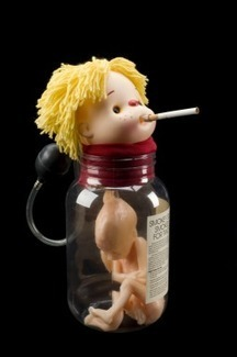 'Smokey Sue Smokes for Two', health education doll, England, 1995 | Visual Communication for Scientists | Scoop.it