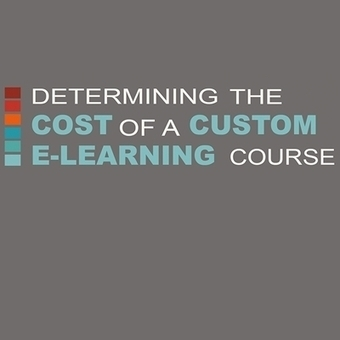 What is the cost of an eLearning course? - Infographic - eLearning Industry | Mobilization of Learning | Scoop.it