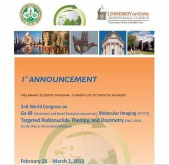2nd World Congress on Ga-68, Molecular Imaging & Targeted ... | NanoMedicine Revolution | Scoop.it