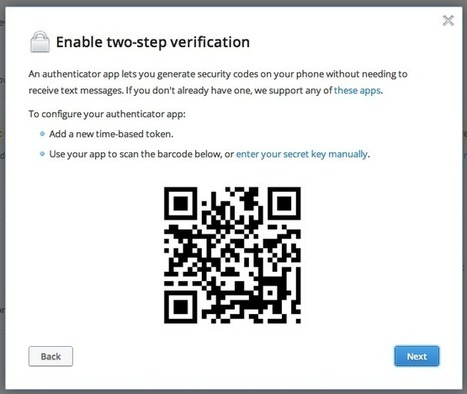 Dropbox añade la identificación en dos pasos como medida extra de seguridad, ¿cómo funciona? | Recull diari | Scoop.it