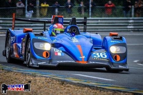 Journée positive pour l'Alpine A450 et Nelson Panciatici ! Le Mans | Auto , mécaniques et sport automobiles | Scoop.it