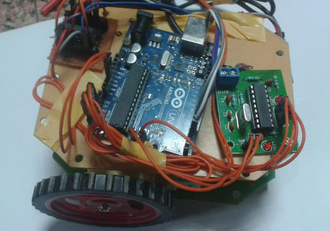 DTMF Controlled Robot using Arduino: Complete Project with Circuit Diagram, C Code & Video | Arduino, Netduino, Rasperry Pi! | Scoop.it