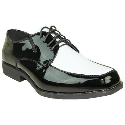 VANGELO Men Tuxedo Shoe Black/White | Foreign Shopper | Scoop.it