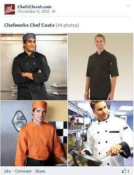 Stylishly Appealing Chef Coats for Men! | Chefs Clothing | Scoop.it