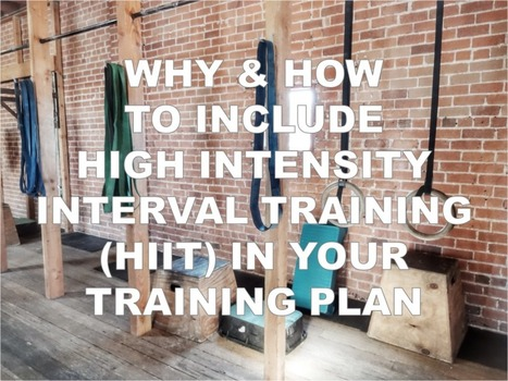 Why & How to Include High Intensity Interval Training (HIIT) in Your Training Plan | Best Natural Pre Workout Supplement – X2 Performance | High intensity interval training | Scoop.it