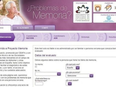 En Internet Herramienta para detectar Alzheimer | ciberpsicología | Scoop.it