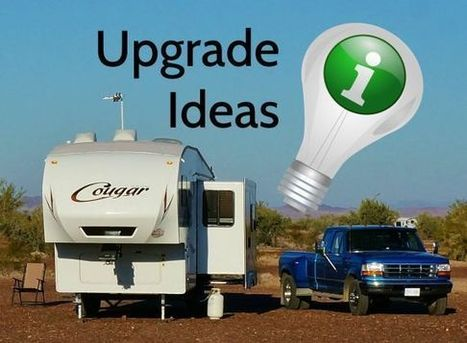 Upgrade Ideas For Your New RV | Going Full-Time? | Scoop.it