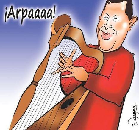 (Caricatura de Uncas) Arpa - Aporrea | joropo | Scoop.it