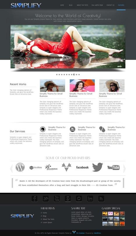 Best Free WordPress Themes 2015 – 93+ WordPress Themes ~ Free WordPress Themes - WP Themes Daddy   Free Wordpress Themes   Scoop.it