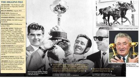 Roy Higgins, the little big man who towered over sport of kings - The Australian | lIASIng | Scoop.it
