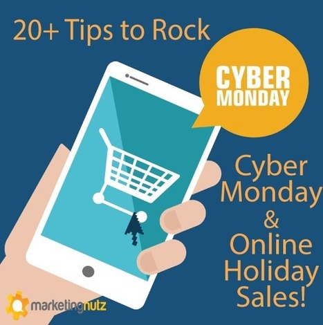20+ Tips to Zoom Cyber Monday and Holiday Sales with Social Media Marketing via @PamMktgNut | Curation Revolution | Scoop.it
