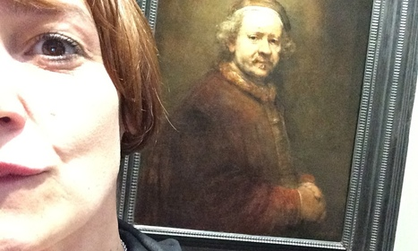 Selfie-portrait of the artist: National Gallery surrenders to the internet | Technology in Art And Education | Scoop.it