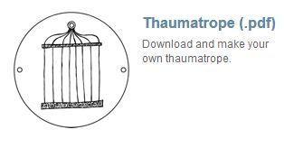 Thaumatrope template: V&A Museum of Childhood | talkPrimaryAnimation | Scoop.it
