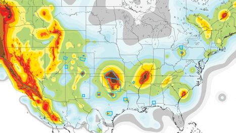 Danger in the Heartland: Man-Made Quakes Mark New Hazard Map #fracking | Messenger for mother Earth | Scoop.it