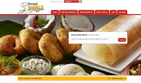 "Khaugalideals Brings ""Restaurant Guide"" for Delhi-NCR 