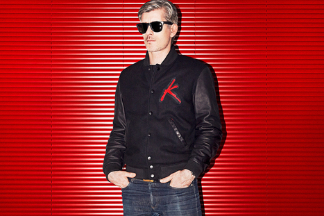 Kavinsky x Surface to Air Varsity Jacket | design - Art | Scoop.it