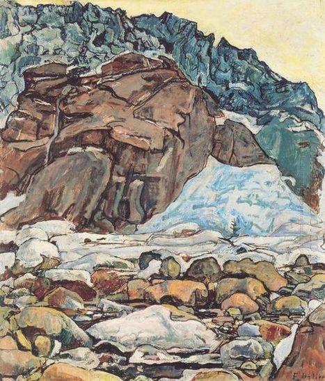 Le glacier de Grindelwald 1912 - Peinture à l'huile | Landscapes oil paintings | Scoop.it