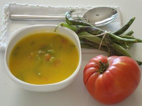 As Minhas Receitas: Sopa de Feijão Verde com Tomate | Foodies | Scoop.it