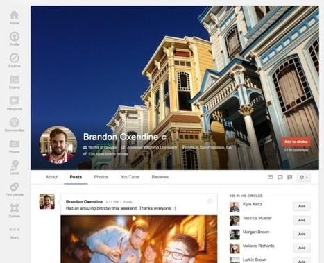 Les détails Complets des dernières modifications de Google+ à savoir | Marketing & Réseaux sociaux | Scoop.it
