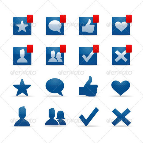 Social Networking Icons (Icons) | GFX Database | GFX Download | Scoop.it