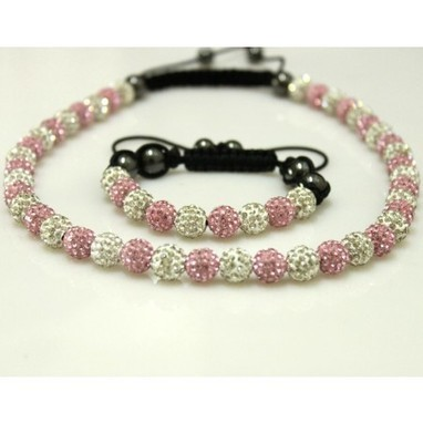 Fine Swarowski and Clay Crystal Beads Shamballa Necklace and Bracelet Set 005 Cheap Sale In Shamballa Canada Online Store | My favourit photos | Scoop.it