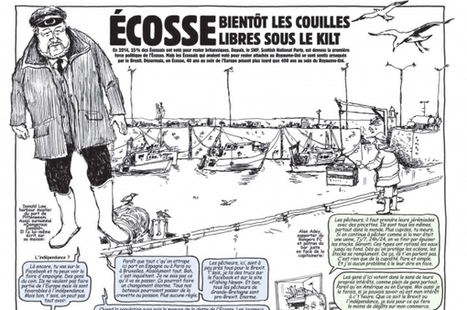Charlie Hebdo backs indy: 'Scotland, soon your balls will swing free under the kilt' | Scottish Independence - The Quiet Revolution | Scoop.it