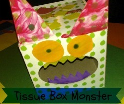 Crazy Crafts for Kids { Tissue Box Monster } | Family Fun (movies, crafts, activities) | Scoop.it