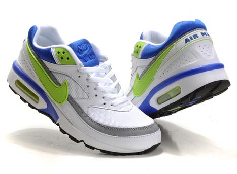 100% Original Mens Nike Air Max 91 Classic BW Grassgreen Blue White Trainers   uk-nike-air-max-cheap   Scoop.it