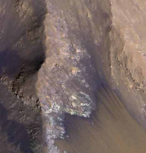 "Mars Shows Strong Signs of Flowing Water - Recurring ""Lineae"" on Slopes at Horowitz Crater 
