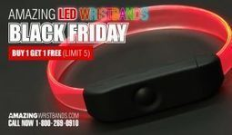 Black Friday Special LED Wristbands Offer! | Craze On Wristbands | Scoop.it