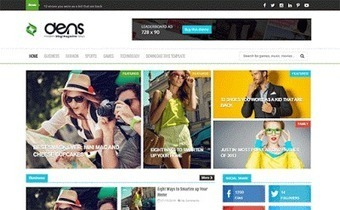 Dens Blog/Magazine Responsive Blogger Template | Blogger themes | Scoop.it