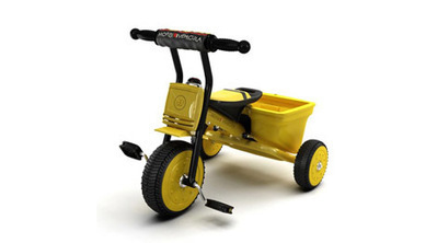 Vélo trois roues 3D | 3D Library | Scoop.it