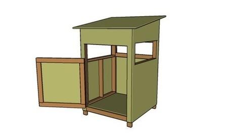 4x4 Deer Stand Plans   Free Garden Plans - How to build garden projects   Garden Plans   Scoop.it