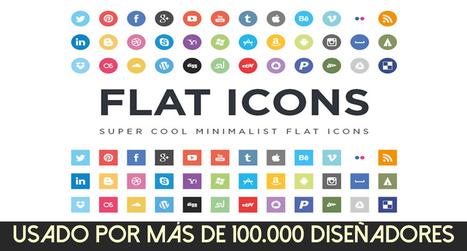 Plugin Flaticon: +45.000 iconos gratuitos | Diseño | Scoop.it