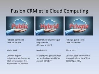 Fusion CRM et le Cloud Computing « EASYTEAM LE BLOG | Information et intelligence collective | Scoop.it