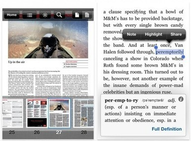 Kindle for iOS update adds adjustable margins, more | TUAW - The ... | iPhones and iThings | Scoop.it