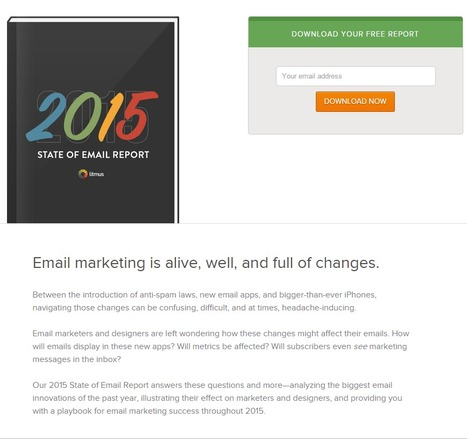 Litmus | 2015 State of Email Report | Digital Transformation of Businesses | Scoop.it
