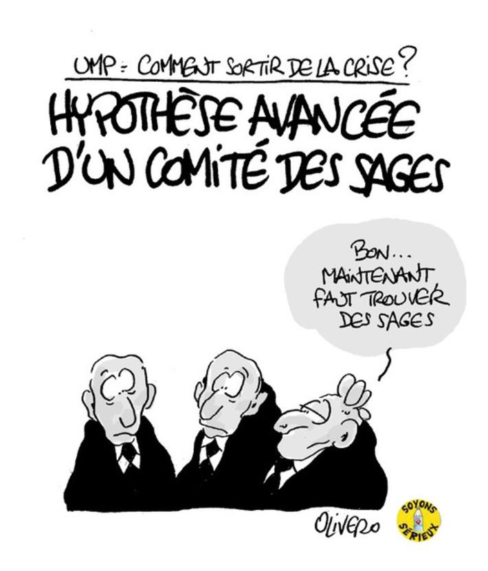 UMP: Un comité des sages pour sortir de la crise?   Baie d'humour   Scoop.it