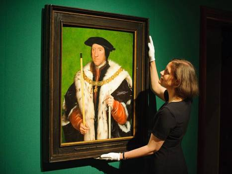 Henry VIII's court recreated at Buckingham Palace art exhibition | Teaching history and archaeology to kids | Scoop.it