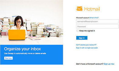 Microsoft hopes for sunny Outlook as Hotmail retired | Technoculture | Scoop.it