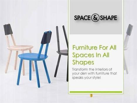Furniture for All Spaces in All Shapes | Shopping Corner | Scoop.it