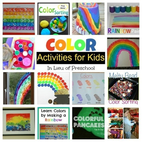 Color Activities for Kids - In Lieu of Preschool | Classroom Activities | Scoop.it