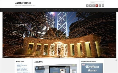 Catch Flames - A New Free WordPress Theme from Catch Themes | Free & Premium WordPress Themes | Scoop.it