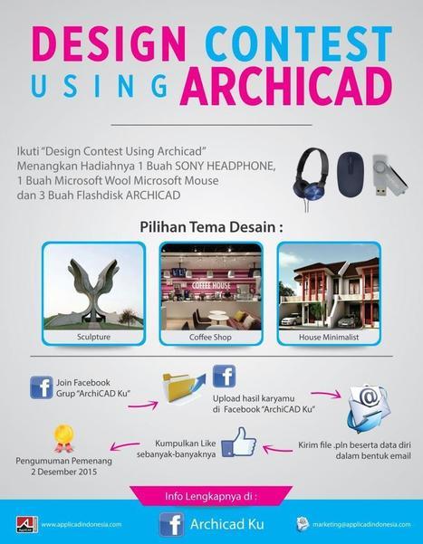 Design Contest Using ArchiCAD | AppliCAD Indonesia | Scoop.it