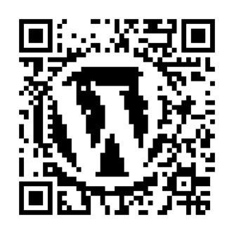 WordPress Logo QR Code - Dougal Campbell's geek ramblings | QR Code Art | Scoop.it