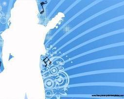 Plantilla Gratis de PowerPoint de Música con Silueta de Mujer   Plantillas PowerPoint Gratis   Plantilas PowerPoint   Scoop.it