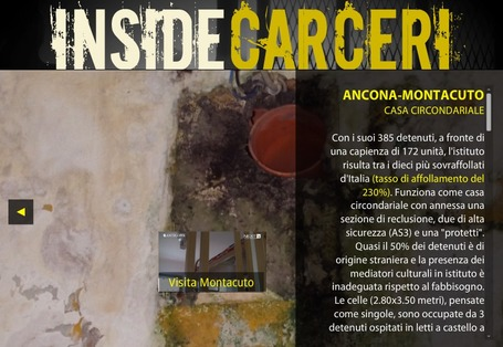 trancemedia.eu - Screen: INSIDE CARCERI | Interactive & Immersive Journalism | Scoop.it