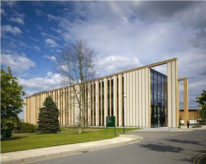 Strawbale and Cross-Laminated Timber: Prefab Gateway Building By MAKE   Top CAD Experts updates   Scoop.it
