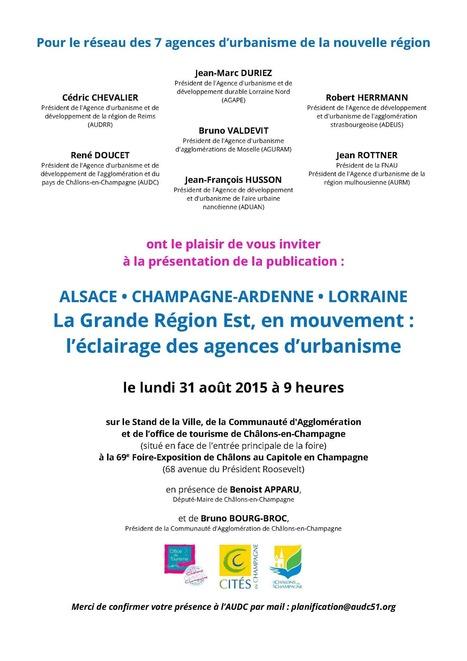 Le réseau des 7 agences d'urbanisme de la nouvelle région! | Actualité du centre de documentation de l'AGURAM | Scoop.it