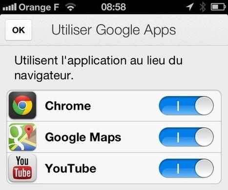 Google veut prendre le contrôle de votre iPhone | Geeks | Scoop.it